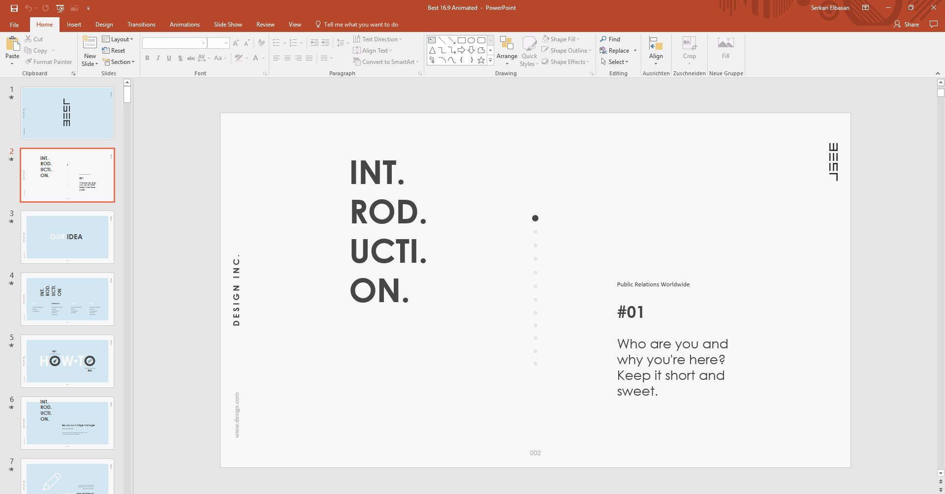 Professioneller Powerpoint Service - Haluze Design